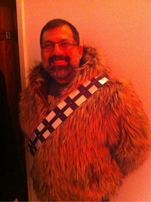 How many people can say a Wookie showed up to their birthday…… I can :)