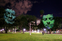 thecreatorsproject:  There are faces in the trees.