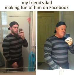 stevenfudd:  Dad Makes Fun of Son on Facebook