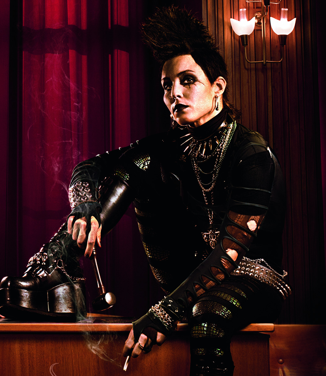 Noomi Rapace as Lisbeth Salander in The Girl Who Kicked The Hornet's Nest