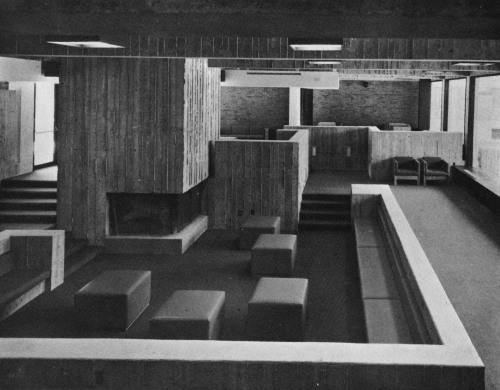 fuckyeahbrutalism:   Dormitory Complex, State University of New York, Stony Brook Campus, 1970s (Gruzen & Partners)   View this on the map