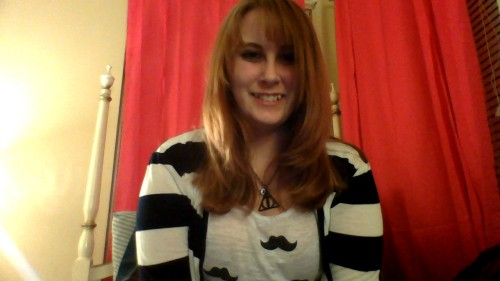 mustaches, stripes, and new hair!