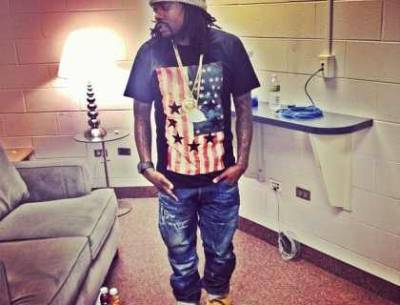 Wale Wearing Givenchy USA Flag with Circle Stars Shirt #Splashy