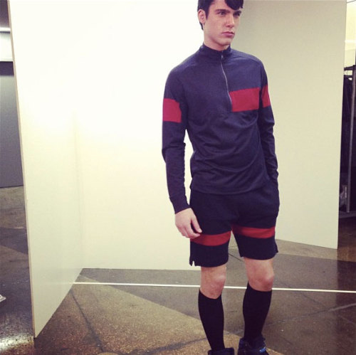 faderstyle:  Instagram sneak peak at one of our favorite sportswear label Number:Lab's new fall show READ MORE ABOUT NUMBER:LAB IN THE FADER ARCHIVES