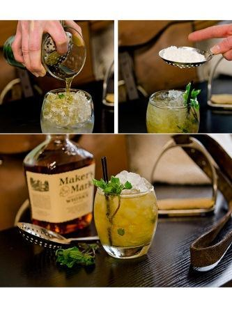 Mint Juleps - possibly the most perfect hot-weather-sitting-on-the-porch drink.