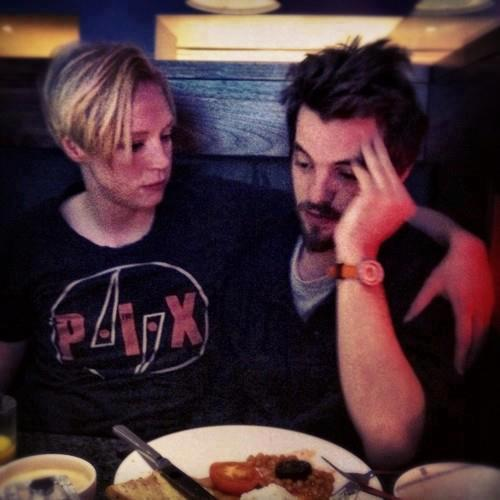 fuckyeahbrienneandjaime:  fuckyeahbrienneandjaime:  Gwen Christie and Gethin Anthony aka Brienne & Renly.