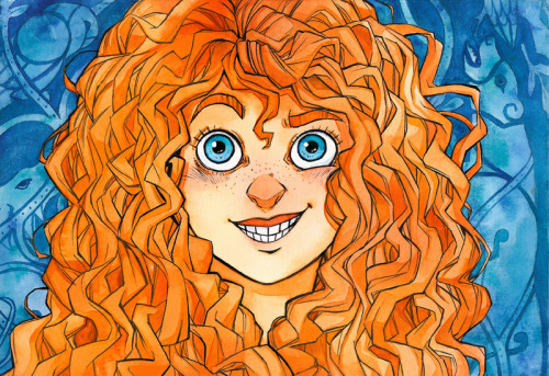 I needed a happy Merida on my dash and this happened.
