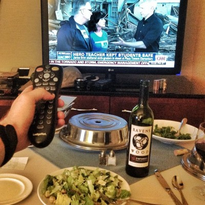Date night with Anderson Cooper (at San Diego Marriott Marquis & Marina)