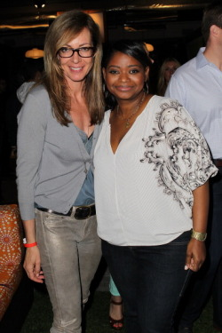 acornerstone:  Allison Janney and Octavia Spencer attend the City Year Los Angeles' Spring Break: Destination Education at Sony Pictures Studios on April 20, 2013 in Culver City, California.