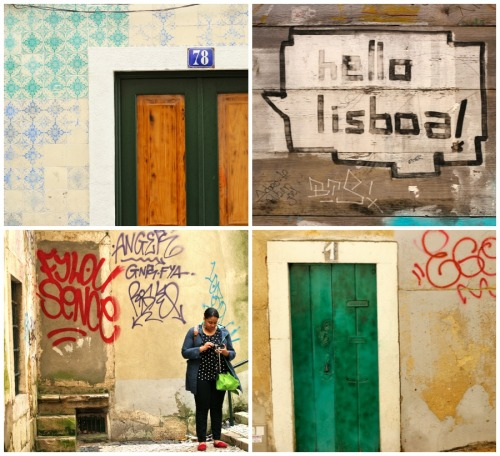 snapshotsandstories:  A few snapshots of the streets of Lisbon. They remind me that art and beauty can be found everywhere.