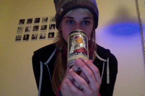 drinkin my coconut porter alone..