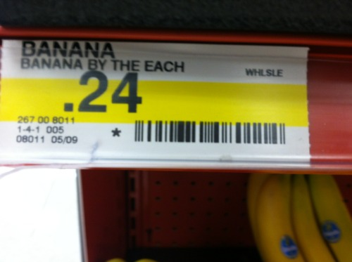 esulli09:  Lawl wut. borlax:  Banana by the each