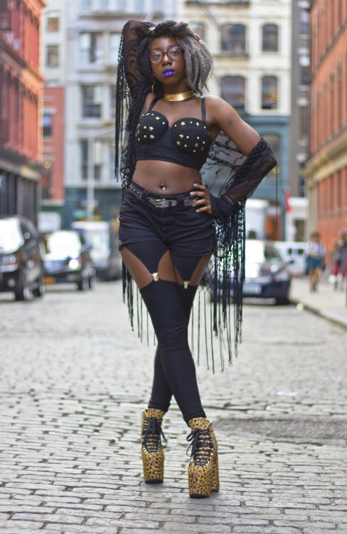blackfashion:  Antanique, 21, Soho viebohemienne.tumblr.com / JeanMisch.com Photographed by: Jean Michel