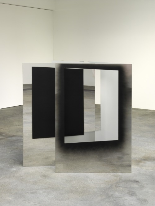 arpeggia:  Nathan Hylden - Untitled, 2010, lacquer on stainless steel