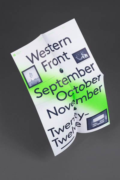 Western Front Fall Calendar by Post Projects
