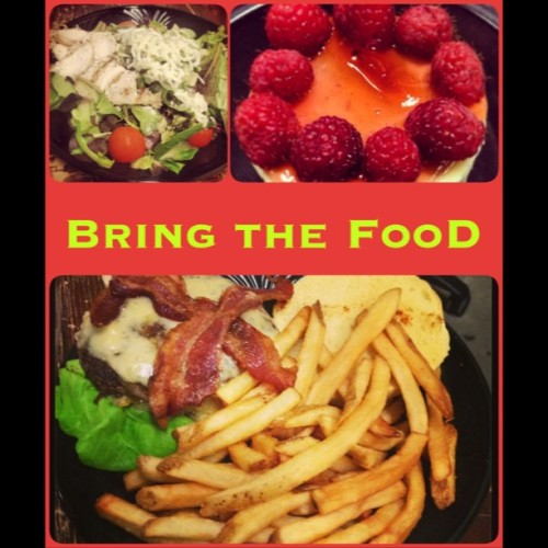 #Frameartist #bring the #food #yummi #dessert #hamburger #salad
