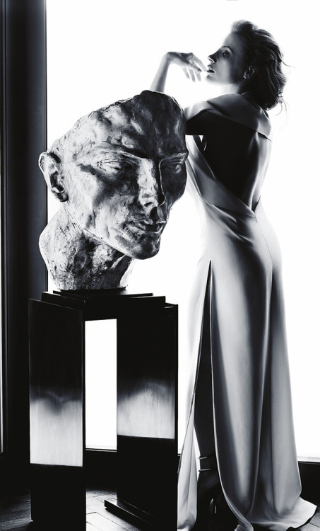 bohemea:  Jessica Chastain - Madame Figaro by James White, May 2013