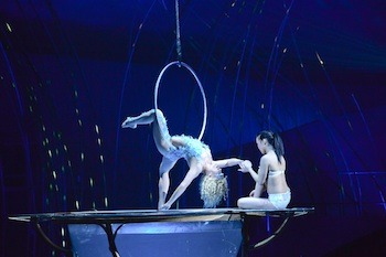 Hullo hullo, all. I am working with Cirque du Soleil on Amaluna while it's here in Seattle. Y'all should come to the show, it's pretty goddamn spectacular.