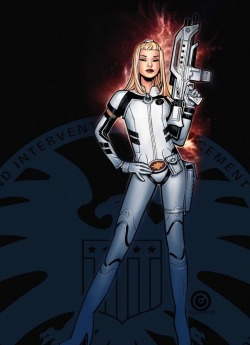 "Dazzler Joins S.H.I.E.L.D. in Uncanny X-Men The fan-favorite mutant gets a new job in ""The Great One's"" Uncanny X-Men, and she's fully clothed to boot! Read More"