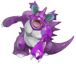 alternativepokemonart:  Artist Nidoking by request.