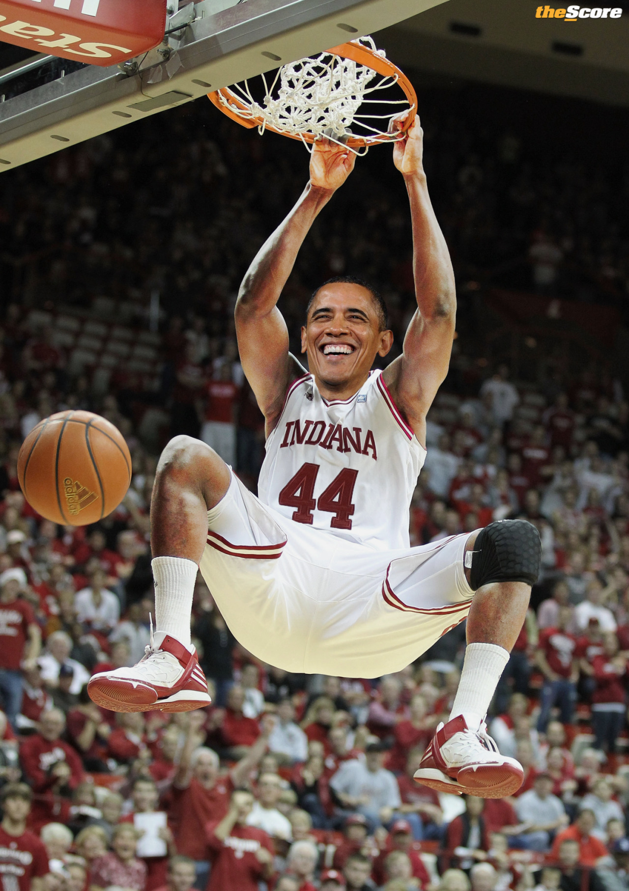 Pic: President @BarackObama Picks @IndianaMBB. #MM75