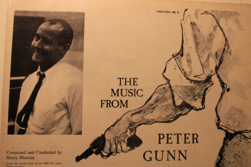 The Music from Peter Gunn - the first album ever to win the Grammy Award for Album of the Year in 1959.