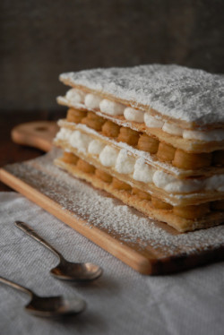 foodfuckery:  Maple Mille Feuille Recipe
