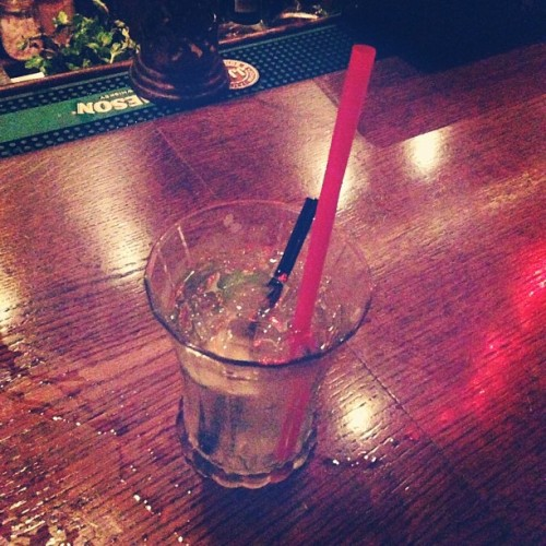Big Straw Needed to get through Bad Drink. #drinkporn #boozeporn #publife #humboldt #humboldtcounty