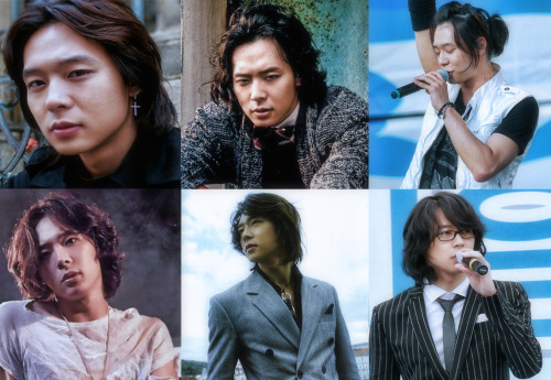 shimbitchmin:  Yoochun with long hair [requested by Ea]