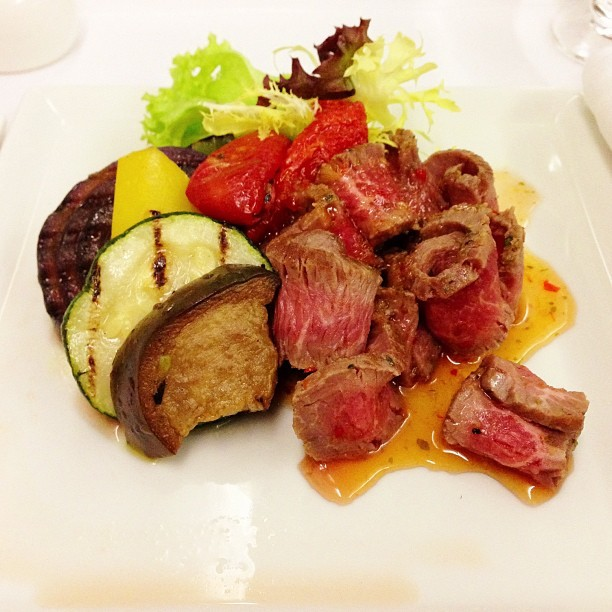 #Lamb #Salad - #singaporeairlines #healthy #tasty