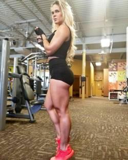 Muscular-Female-Calves