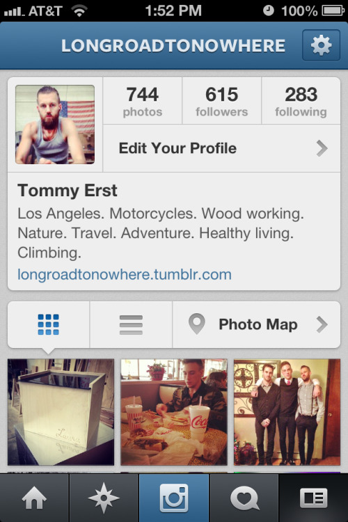 I wish getting Instagram followers was as easy as getting tumblr followers. Go ahead and follow me if you like. January is going to be full of lots of travel and adventure.  Username - Longroadtonowhere