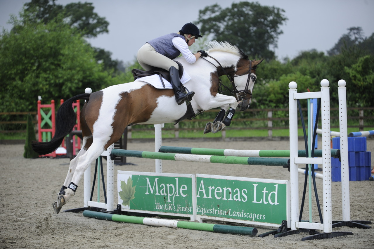 horseandrideruk:  Sarah and Morse take a flyer in our schooling shoot! Look out for March issue of Horse&Rider magazine on sale in the US in Barnes&Noble now! Alternatively download our Apple or Android app :)
