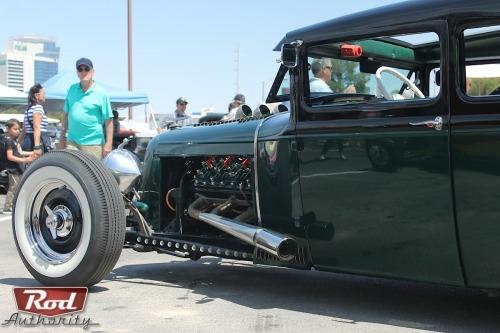 rodandcustomshow:  Roy Schelleken's 1930 Model A Sedan–Our Hunt For A Jaguar