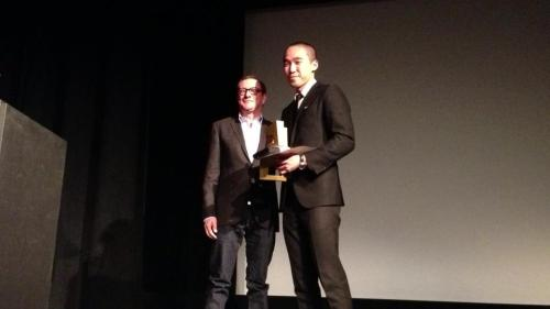 Paul Jung's film ISAORA Tryptic Film won best...