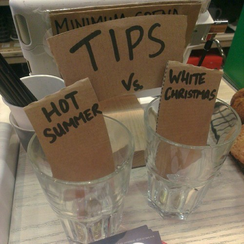 No contest in this morning's #tipjar choice @brother_hubbard #dublin