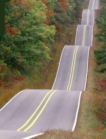Roller Coaster Highway, Wewoka, Oklahoma photo via cathy