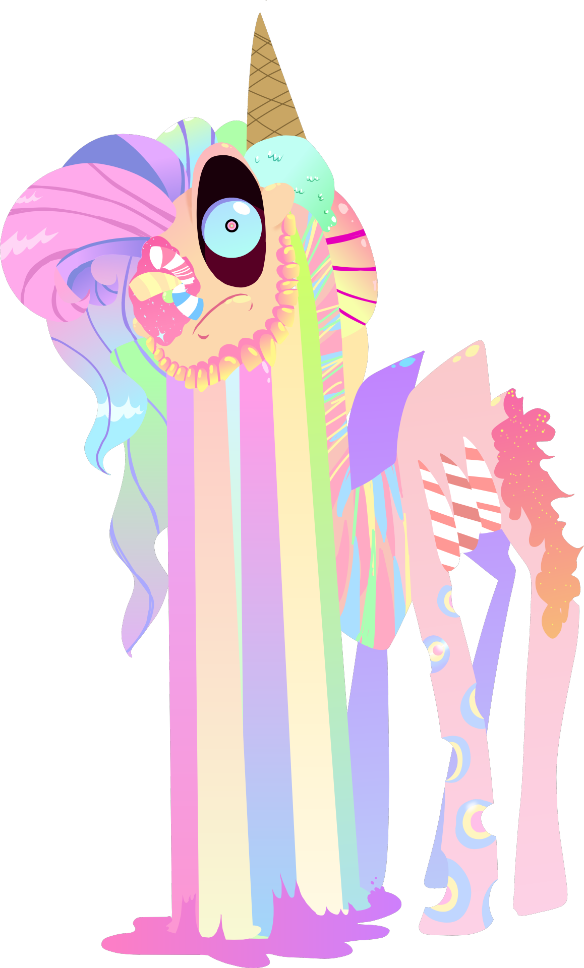 Give Us Something Sweet To Bite My First Ever Candy Pony Concept Art After end of auction i will need the reference of your character. my first ever candy pony concept art
