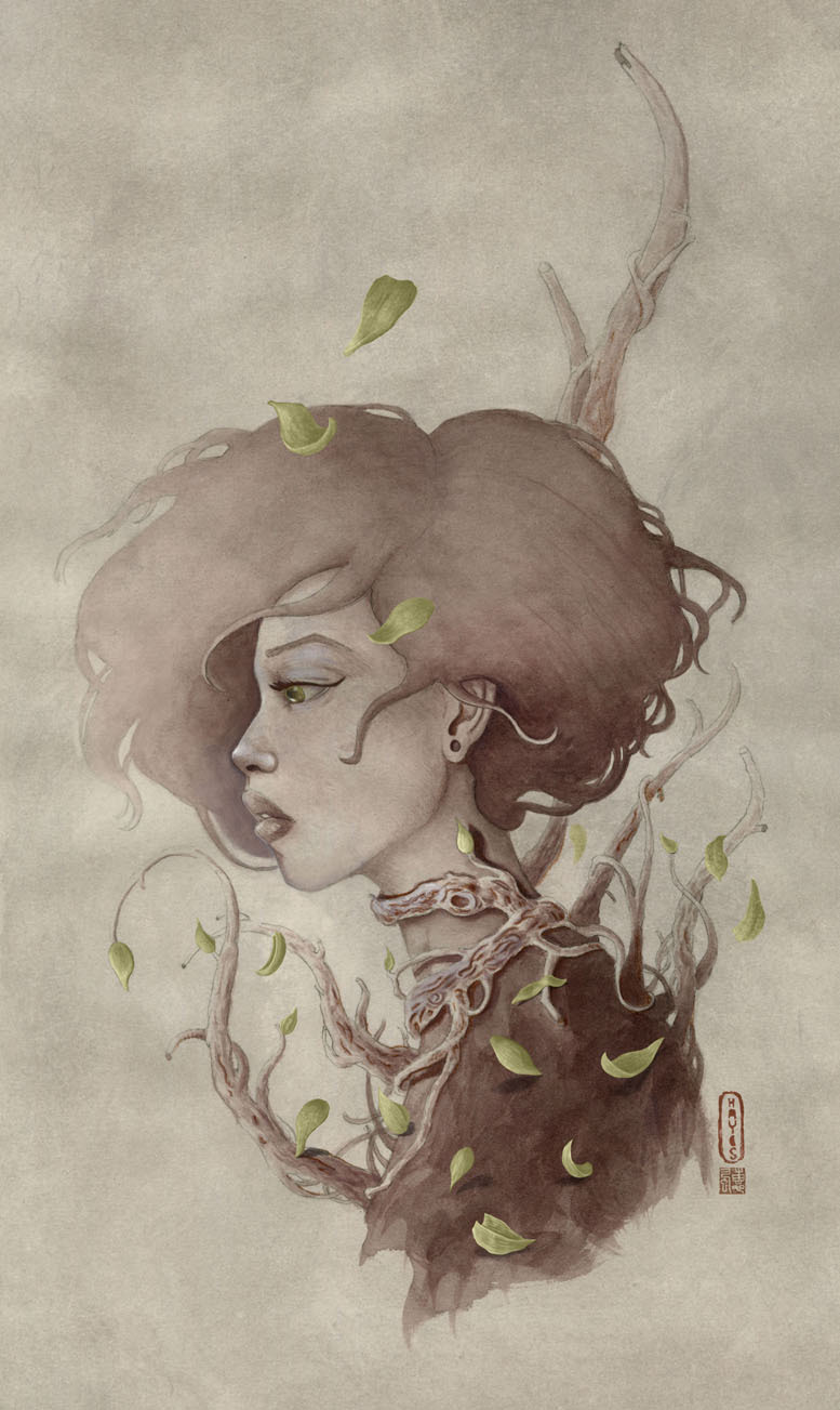 artforadults:  thayesillustration submitted ——————— Life and Nature - travishayesillustration.com
