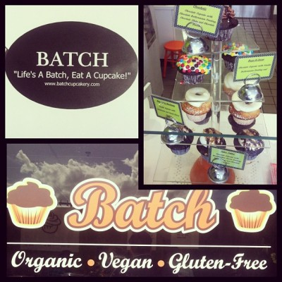 #glutenfree #goodness #cupcakes #nomz with @devotionislove  (at Batch Cupcakery)