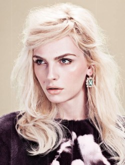 Andrej Pejic by Zoey Grossman for TWELV Magazine.