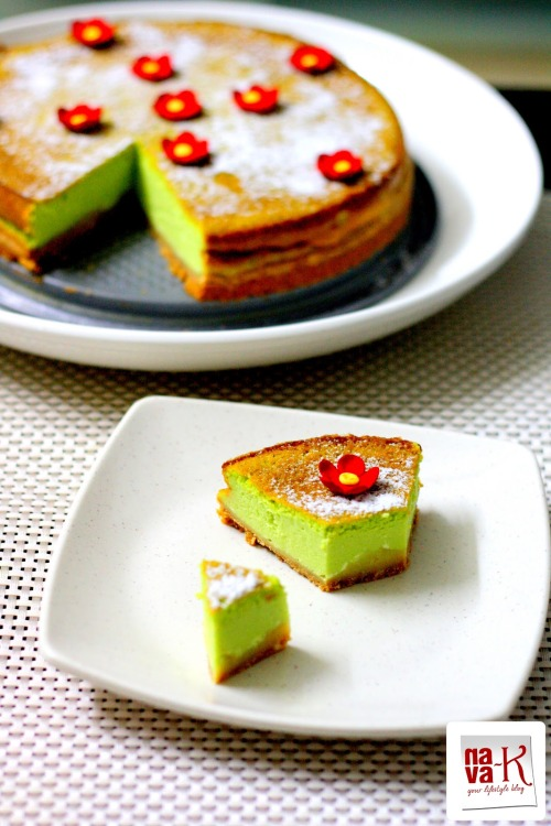 Pandan (Screwpine) Cheesecake by Nava-K