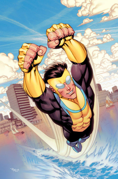 herochan:  Invincible #105 Cover Art Lines by Ryan Ottley Colors by John Rauch