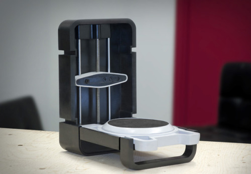 futurescope:  3D Scanner: The Photon by Matterform emergentfutures:  The Photon by Matterform - The world's first, truly affordable 3D scanner for anyone! If you've ever wanted a 3D scanner now's your chance. By pledging support to this project, you can have your very own Photon 3D Scanner. All the Early backers packs are sold out but just Pledge $399 to grab a batch #1. The Photon allows anyone to take a physical object, and turn it into a digital 3D model on your computer. From there, you can print your file on any 3D printer, or online printing service. Or use the model you created in an animation or video game. Full Story: Indiegogo  Video: