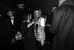 crfashionbook:  CR FASHION BOOK PARTY CR x The Cut: Ciara and Riccardo Tisci's–Eye-View Read More