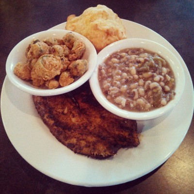 Southern cookin' makes you good lookin'. T-Town Cafe.