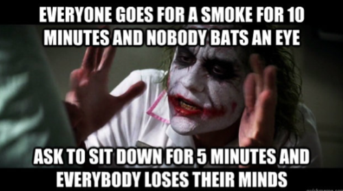 As the only non smoker at my job, I never understood this via imgur → more…