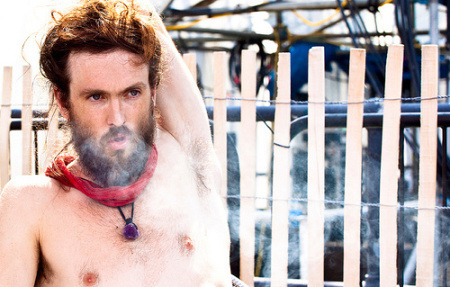 Alex Ebert may as well be Jesus.