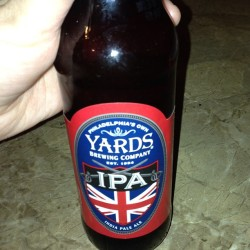 Brew of the night #yards #yardsbrewingcompany #yardsipa #ipa #soawesome