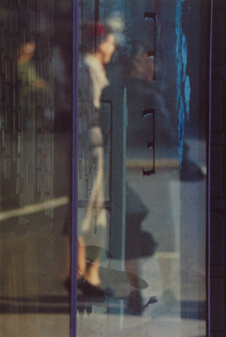Walking, 1956 | Saul Leiter